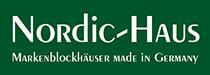 Nordic Haus Blockhaus | Holzhaus | Markenblockhäuser Logo